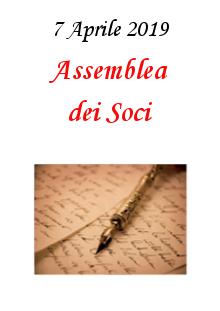 2. Assemblea dei Soci – 7 Aprile 2019