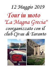 """3. Tour in Moto – """"La Magna Grecia"""" – 12 Maggio 2019"""