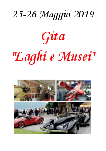 """4. Gita """"Laghi e Musei"""" – 25 e 26 Maggio 2019"""