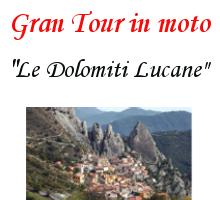 """7. Gran Tour in moto """"Le Dolomiti Lucane"""" – 31 Agosto e 1 Settembre 2019"""