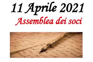 2. Assemblea dei soci – 11 Aprile 2021