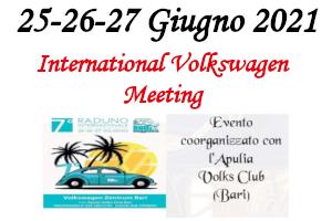 6. International Volkswagen Meeting – 25/26/27 Giugno 2021