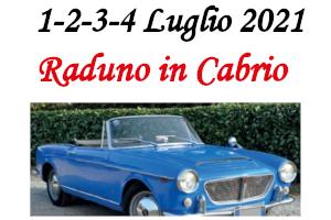 7. Raduno in Cabrio – 1/2/3/4 Luglio 2021