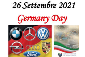 9. Germany Day – 26 Settembre 2021