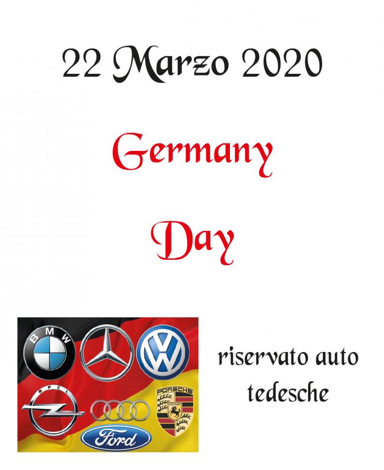 2. Germany Day – 22 Marzo 2020