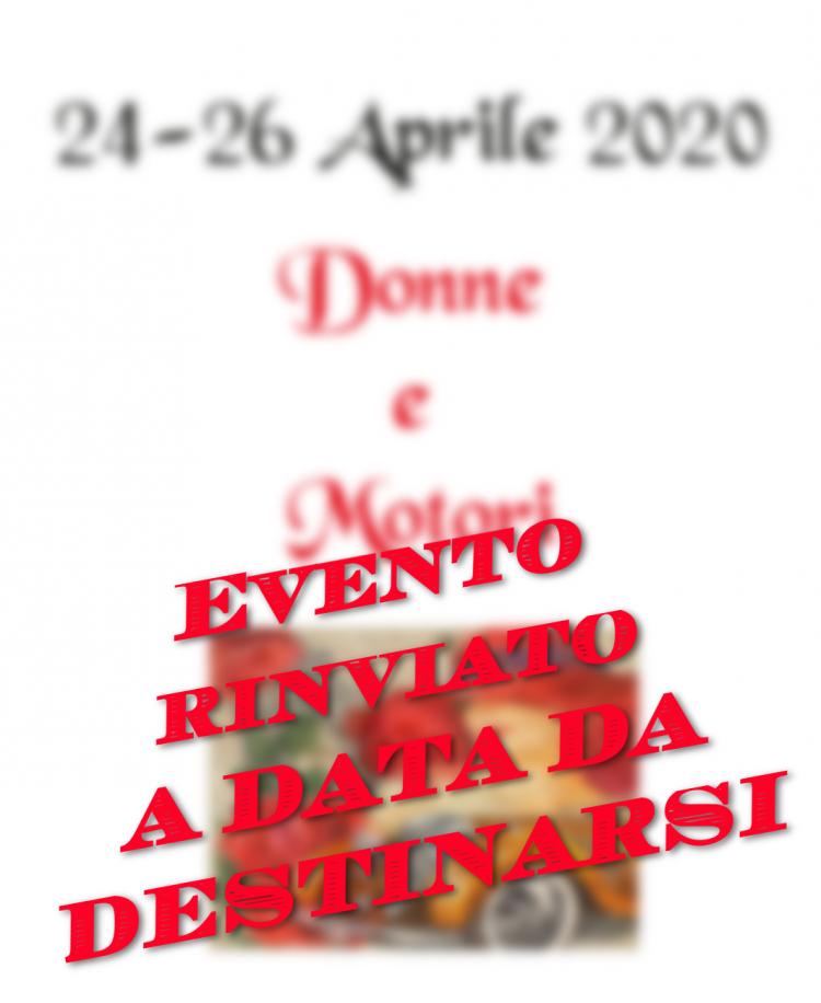 3. Donne e Motori – 24/26 Aprile 2020